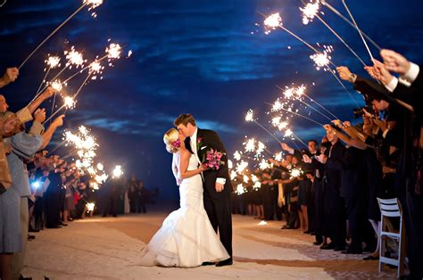 Wedding Sparklers by Make Your Sendoff Special With Wedding Sparklers