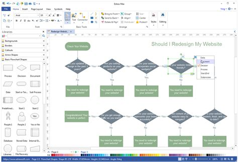 Simple Floor Plans by The Best Visio Alternative For Windows Mac And Linux