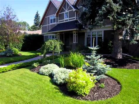 front yard landscaping canada small home trees for front garden ideas