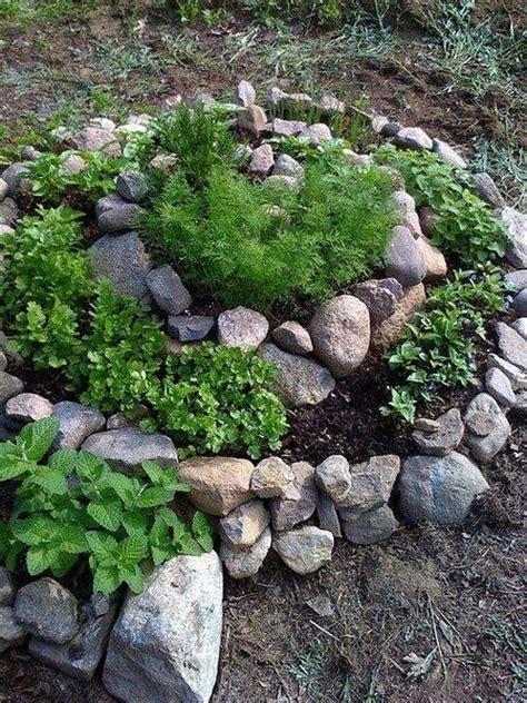 Herb Rock Garden Rock Garden Garden Landscape Rock Garden Herbs