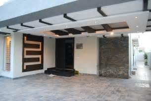 Architect Designed House Plans Modern Homes Car Porch Main Door False Ceiling