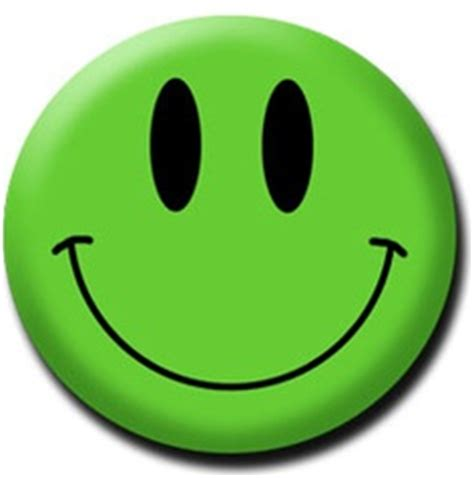 happy green color green happy face clipart best