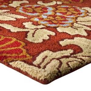 target wool rugs 350 target fieldcrest luxury floral tapestry room rug wool 6 6 quot x10 78x120 quot rugs carpets