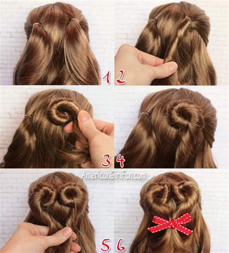 Doll Hairstyles Easy by American Doll Hairstyle S Day Bun