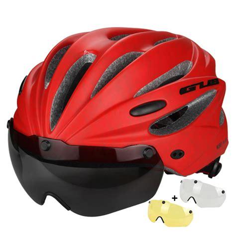 Inbike Helmet Magnetic Goggles Bike With 2 Lens Helm Sepeda Mx 9t aliexpress buy gub cycling helmet ultralight