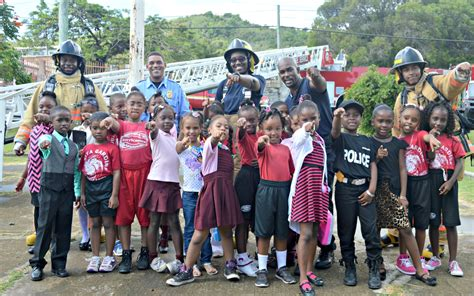 St Yuanita week of the child firefighters emts and st croix