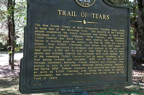 the new trail of tears how washington is destroying american indians books a day trip to new echota capital never enough thyme