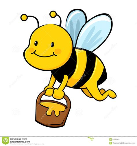 honey bee clip bee pollen clipart clipground