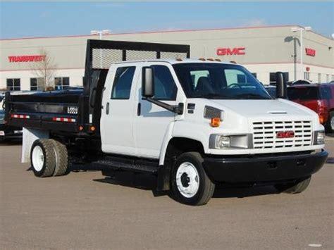 2007 gmc c series topkick c5500 crew cab dump truck data