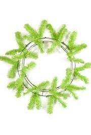 Pu103001010 Form Neon Green lime green elevated work wreath form