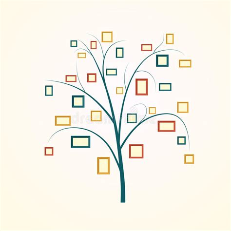 Family Tree Design Stock Vector Illustration Of Frame 65923764 At Family Tree For Your Design
