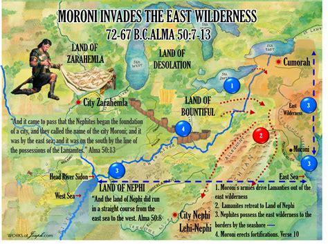 maps moronis america  north american setting