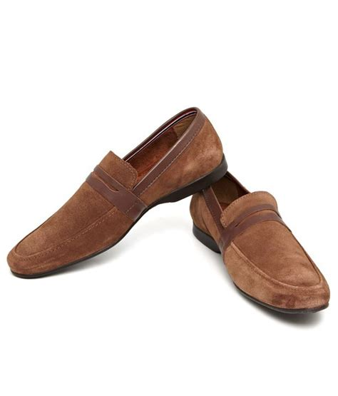 cheap loafers india arrow brown loafers buy arrow brown loafers at