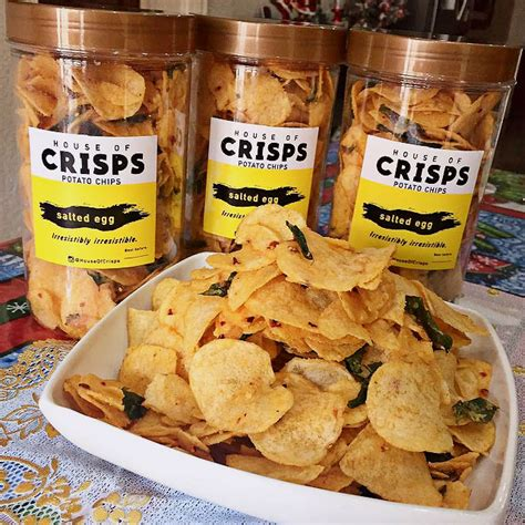 Gourmet Salted Egg Yolk Potato Chips the best salted egg chips you can find in metro manila spot ph
