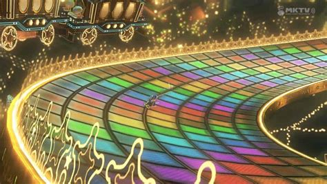 Rainbow Road mario kart 8 wii u rainbow road www pixshark