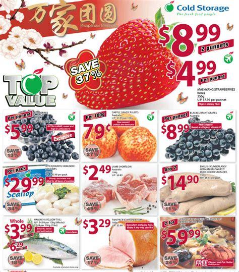 cold storage new year oranges cold storage new year supermarket promotions week