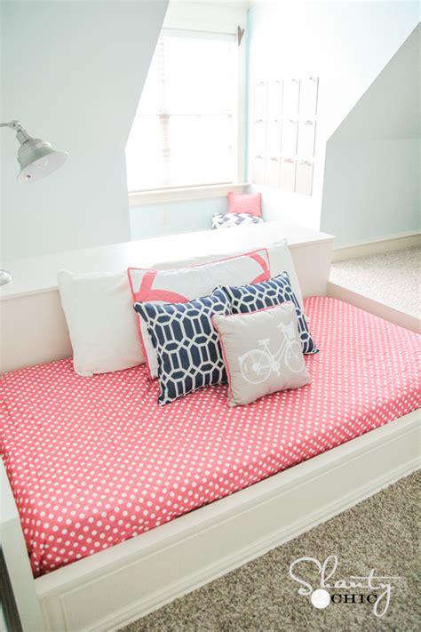 diy twin platform bed diy platform dresser bed shanty 2 chic