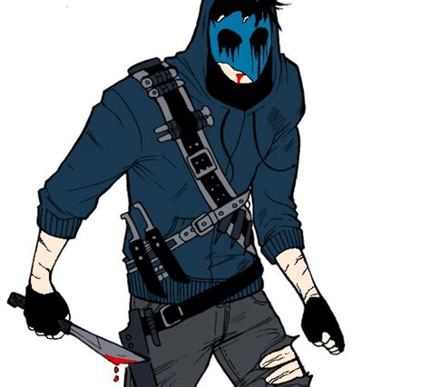 imagenes de jack mascara azul eyeless jack mi taringa