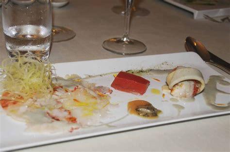 lade con carta di riso diner au ristorante il sole 1 michelin 224 bologne italie