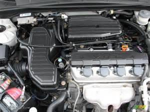 2004 Honda Civic Engine 2004 Honda Civic Ex Coupe 1 7l Sohc 16v Vtec 4 Cylinder