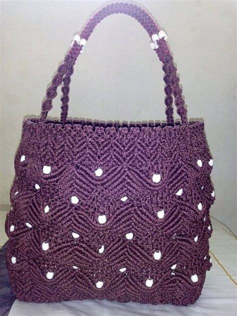 Macrame Thread Bags - 206 best images about bolsos macrame on