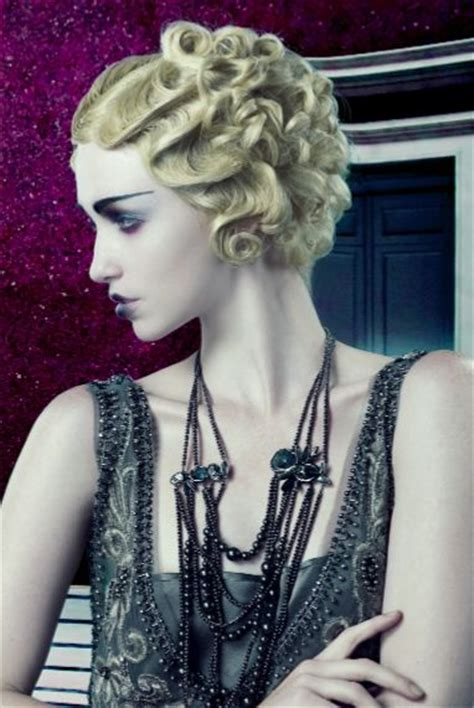 the great gatsby curly hair styles naha retro hairstyles and vintage hair on pinterest