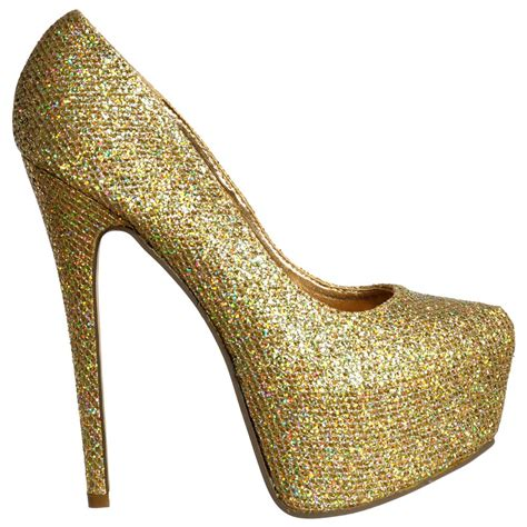 gold high heel gold glitter high heel boots gold sandals heels