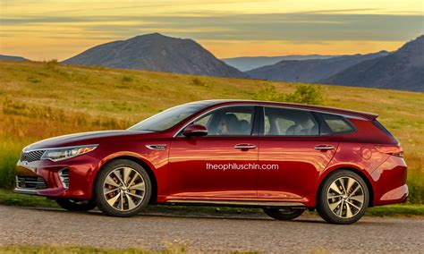 Kia Station Wagon by A Kia Optima Station Wagon Could Look Like This Carscoops