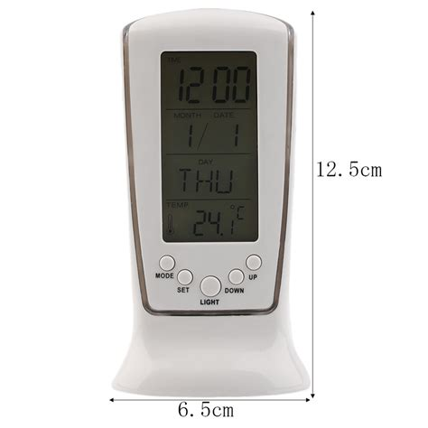 digital led display table alarm clocks backlight mini fashion clock f5 ebay