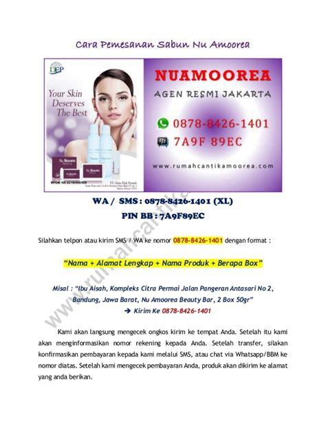 Pelembab Nu Amoorea 0878 8426 1401 xl sabun wajah nu amoorea untuk pria