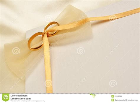 wedding sts for card wedding rings card stock photo image of