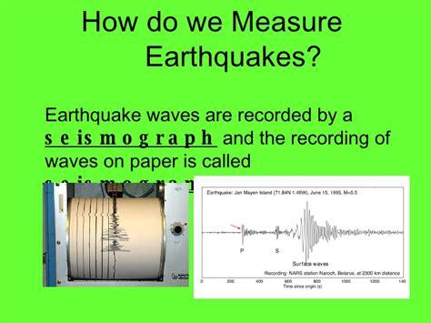 earthquake measurement image gallery measures earthquakes