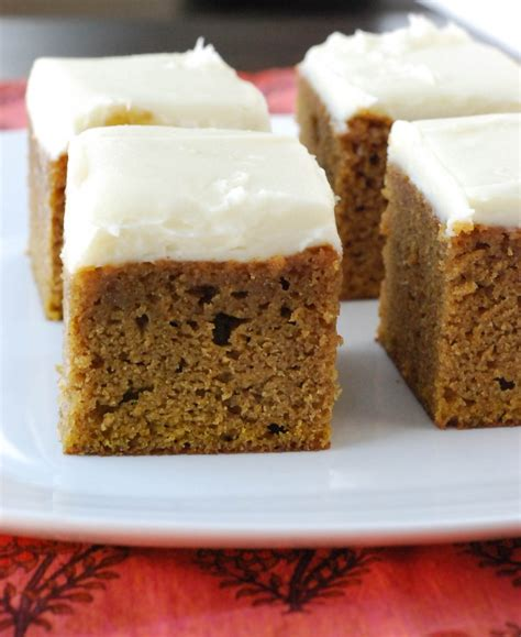 pumpkin bars blissfully delicious
