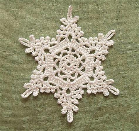 pattern snowflake crochet beautiful crochet snowflake no pattern crochet pinterest