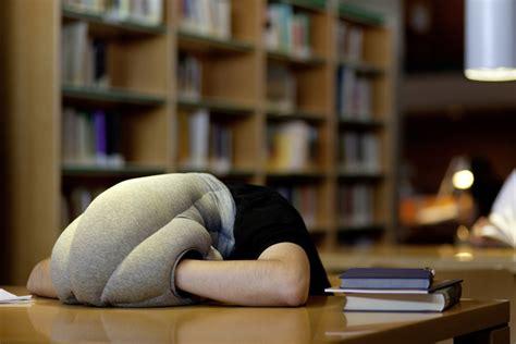 Ostrich Desk Pillow by Ostrich Pillow By Kawamura Ganjavian Kickstarter
