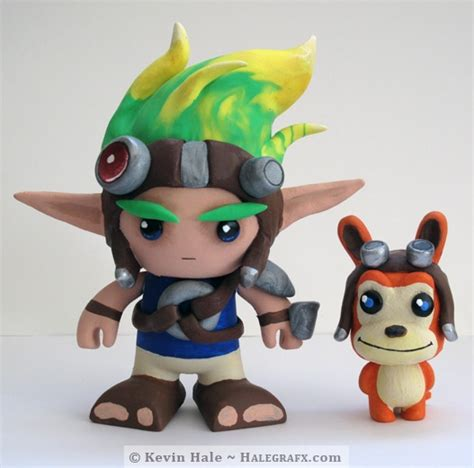 color blanks jak and daxter color blanks figures
