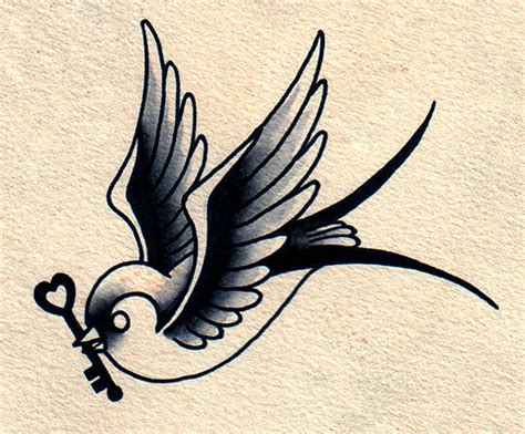 swallow bird tattoo birds tattoos for you traditional bird
