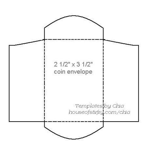 ticket envelope template coin envelope template envelope templates