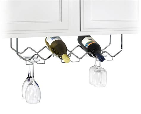 wine glass rack under wine and stemware rack in wine glass racks