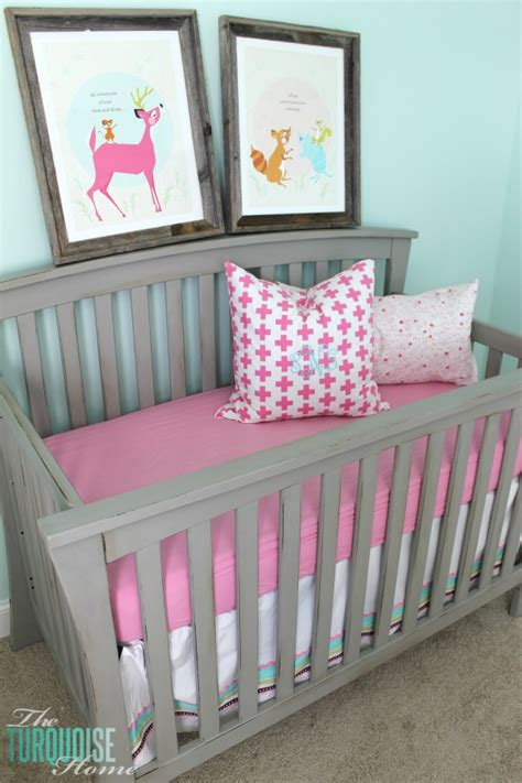 Beautiful Gray Crib Makeover With Annie Sloan Chalk Paint Painting Baby Crib