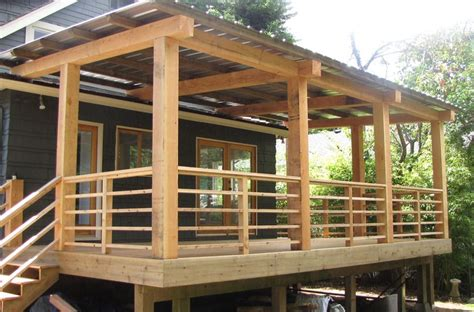 Horizontal Wood Deck Railing Ideas See 100s Of Deck Patio Railings Designs