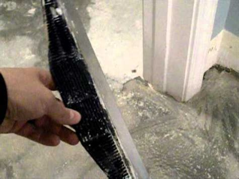 Removing Carpet Adhesive From Concrete Floor by Vinyl Glue Wmv