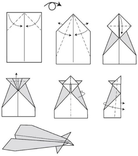 Make A Paper Airplane Easy - conrad paper airplane step by step paper