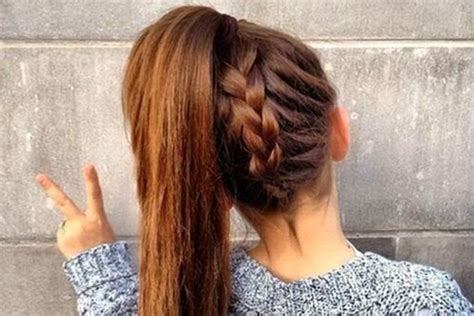 hairstyles for hair for high school 15 hairstyles for high school