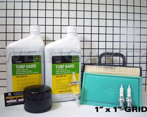 deere parts home maintenance kit for model lg230