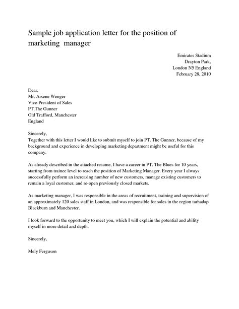 great employment application cover letter sample 97 for best cover