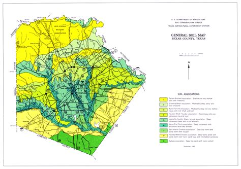 soil map of texas it all starts with the soil program bexar county