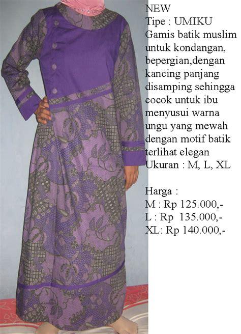 Gamis Untuk Ibu modern batik n elegan gamis batik untuk ibu