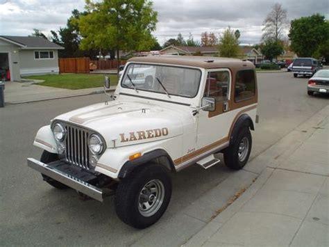 Used Jeeps In California Find Used 1985 Jeep Cj7 Laredo In Palm Springs California