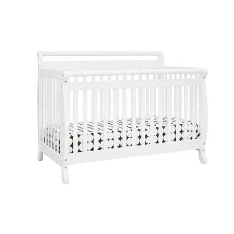 Davinci Emily Crib Mattress Davinci Emily 4 In 1 Convertible Crib In White With Crib Mattress M4791w M5315c Kit